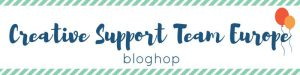 Blog Hop Creative Support Team Europe