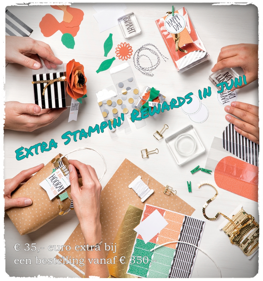 Extra Stampin Rewards