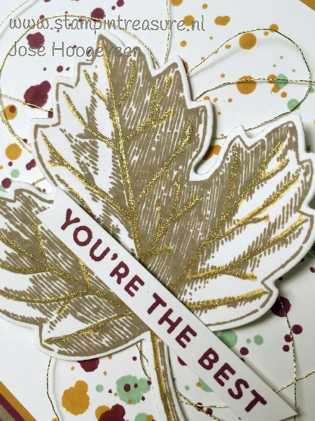 autumn leaves stampin up