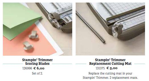 stampin trimmer