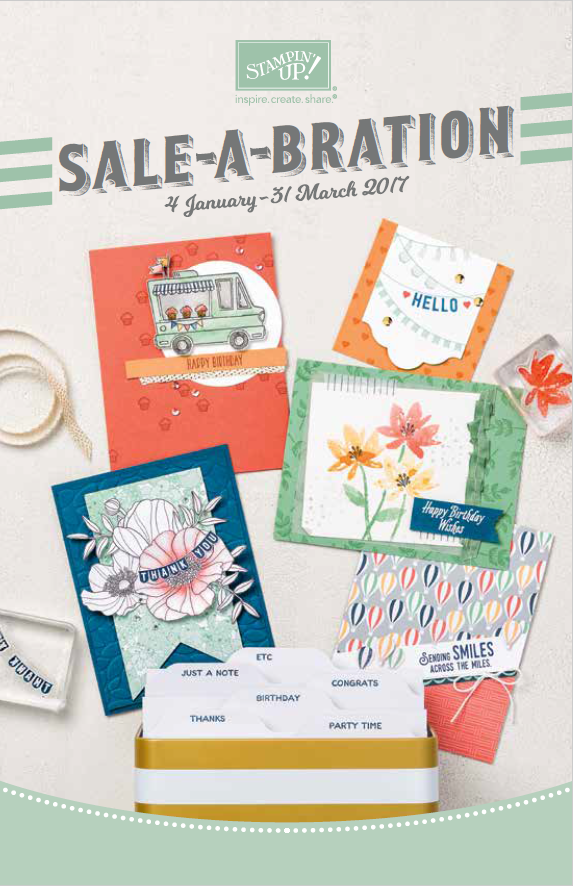 Sale a bration SAB) flyer met gratis producten