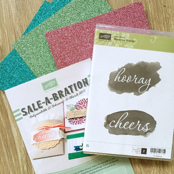 stampin up sale a bration 2017