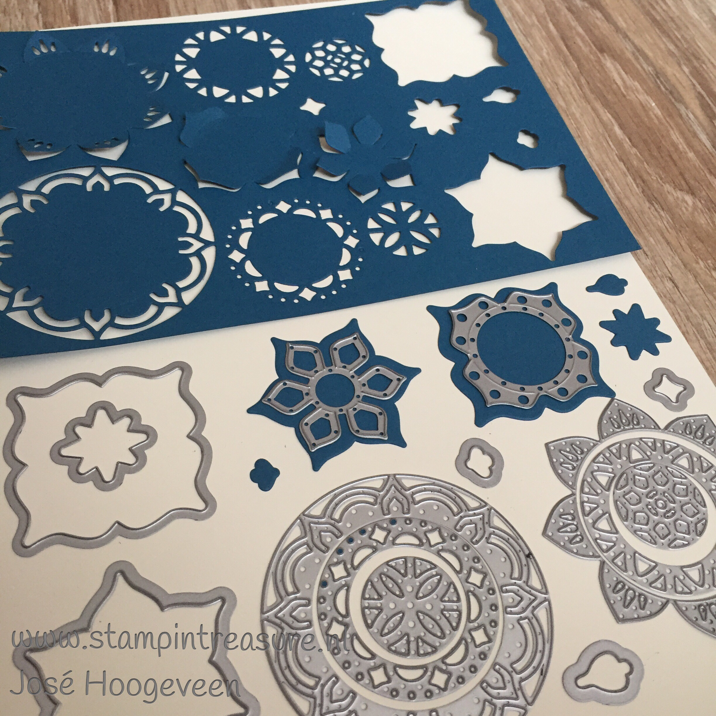 Eastern palace framelits Stampin Up