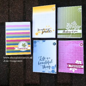 color theory memories and more - stampin up