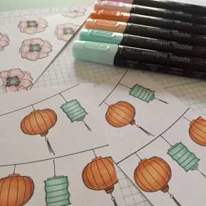 stampin' blends stampin up
