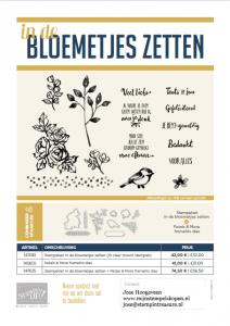 in de bloemetjes zetten stampin up nederlands
