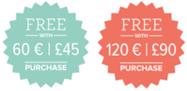 sale a bration 2018 gratis producten