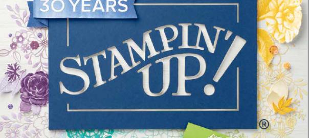 Start van de catalogus stampin up 2018 - 2019