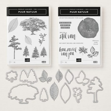 Stampin Up Puur Natuur bundle rooted in nature