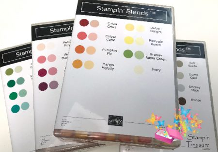 Stampin Blends Inlays