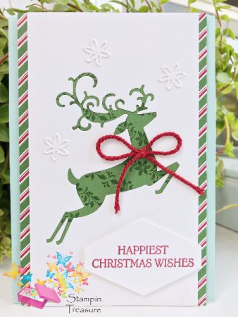 kerst in augustus Stampin Up christmas in august