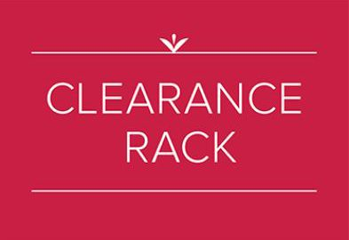 clearance rack update september 2018